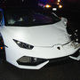 Suspected DUI driver crashes Lamborghini after police chase