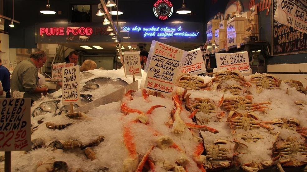 5 of seattle 39 s best seafood markets seattle refined for Pure food fish market
