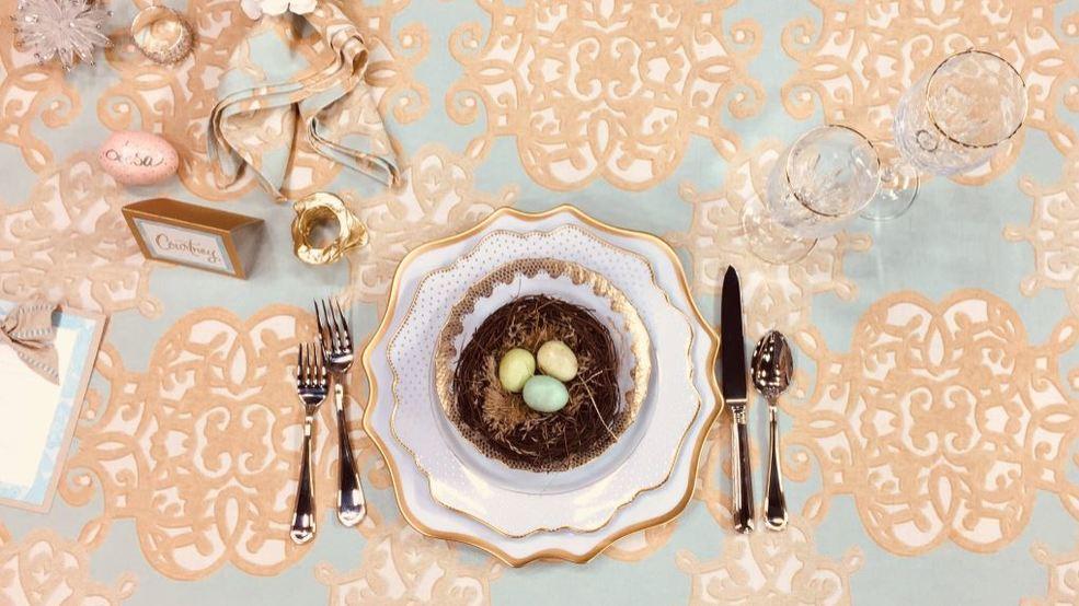 Interior designer Shayla Copas has ideas for spring entertaining
