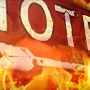 Firefighters battle early Wednesday morning motel fire