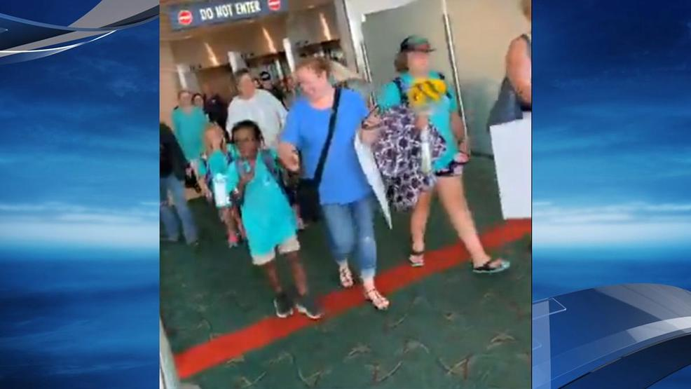 Parents say airline failed to keep their children safe on