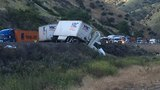 All lanes of NB I-5 on the Grapevine back open after big rig jackknifes