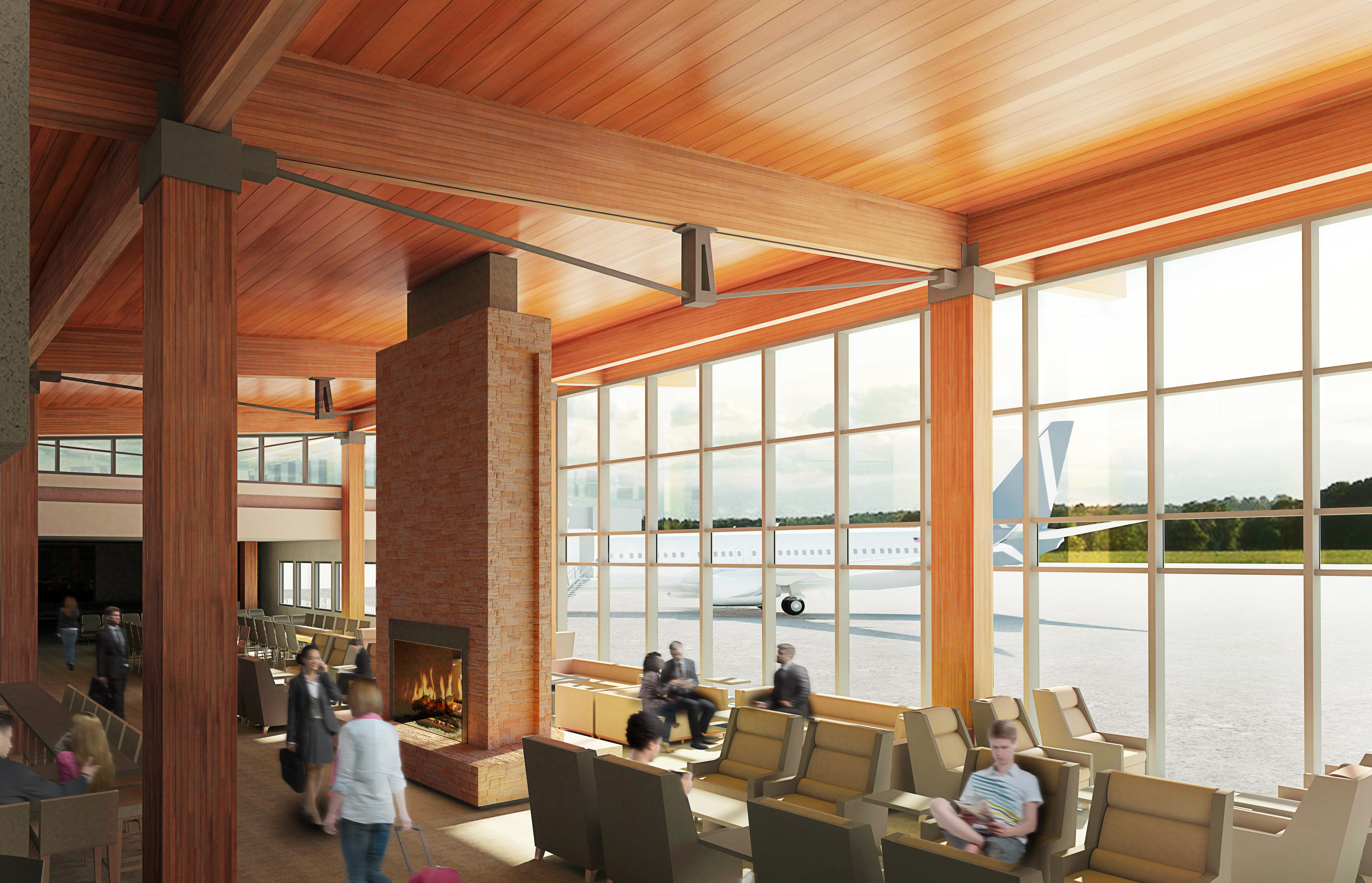 Propeller Airports released these renderings of the terminal it intends to build at Paine Field.