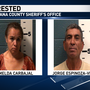 A 56-year-old babysitter and girlfriend accused of sexually assaulting two children