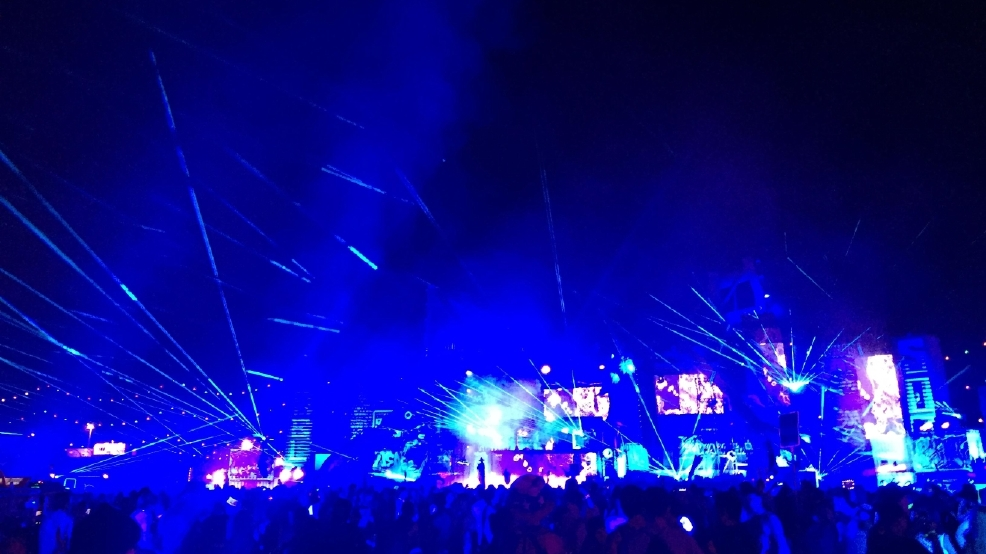 Inside EDC: A first-time attendee's experience under the electric sky