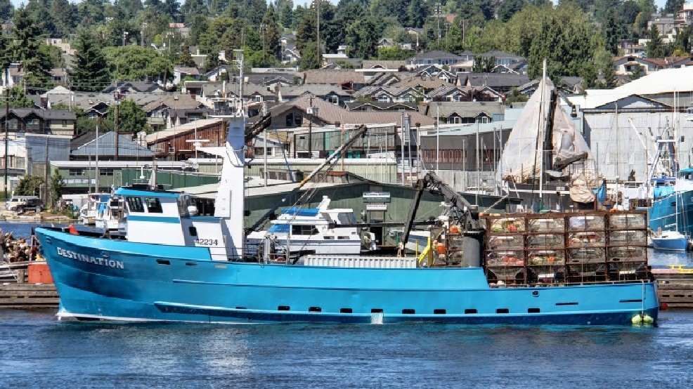 Seattle Fishing Boat Lost Since February Found On Ocean