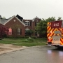 Homeowners say they heard lightning strike just before their house caught fire