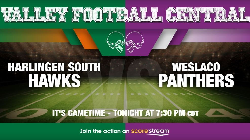 Listen Live: Harlingen South Hawks vs. Weslaco Panthers