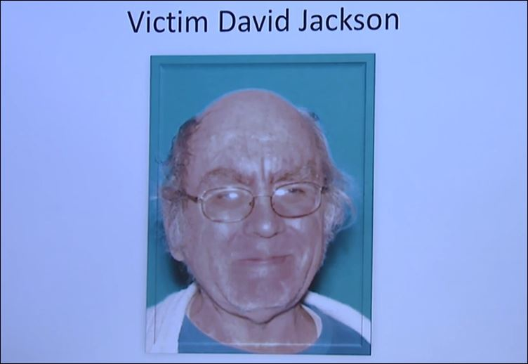 The last victim was 58-year-old David Jackson, who was shot in the parking lot of Catholic Charities.(Photo Fresno Police)