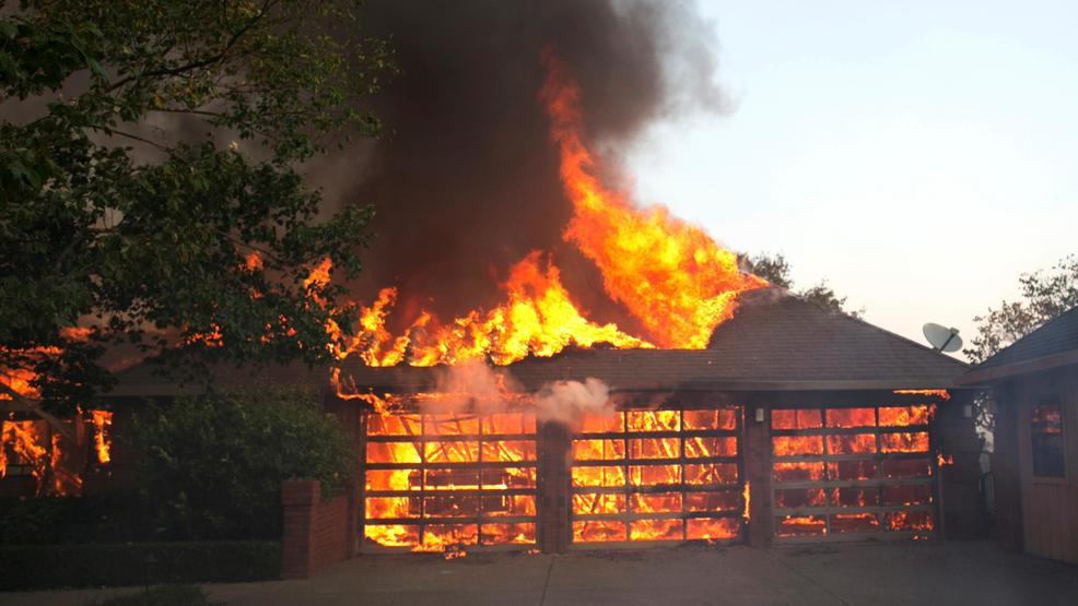 Image result for Inferno forces thousands to evacuate homes in northern California