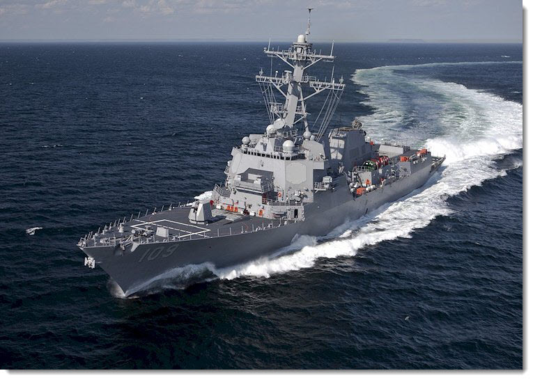 USS JASON DUNHAM (DDG 109) Photo courtesy: U.S. Navy