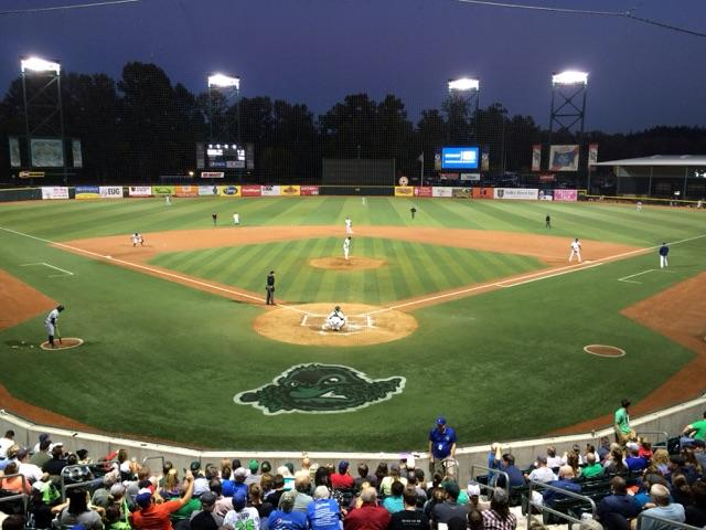 The Eugene Emeralds face the Everett Aquasox in the final Northwest League Championship series game Tuesday night. (SBG photo)