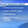 Chicago truck driver arrested on federal terrorism charges