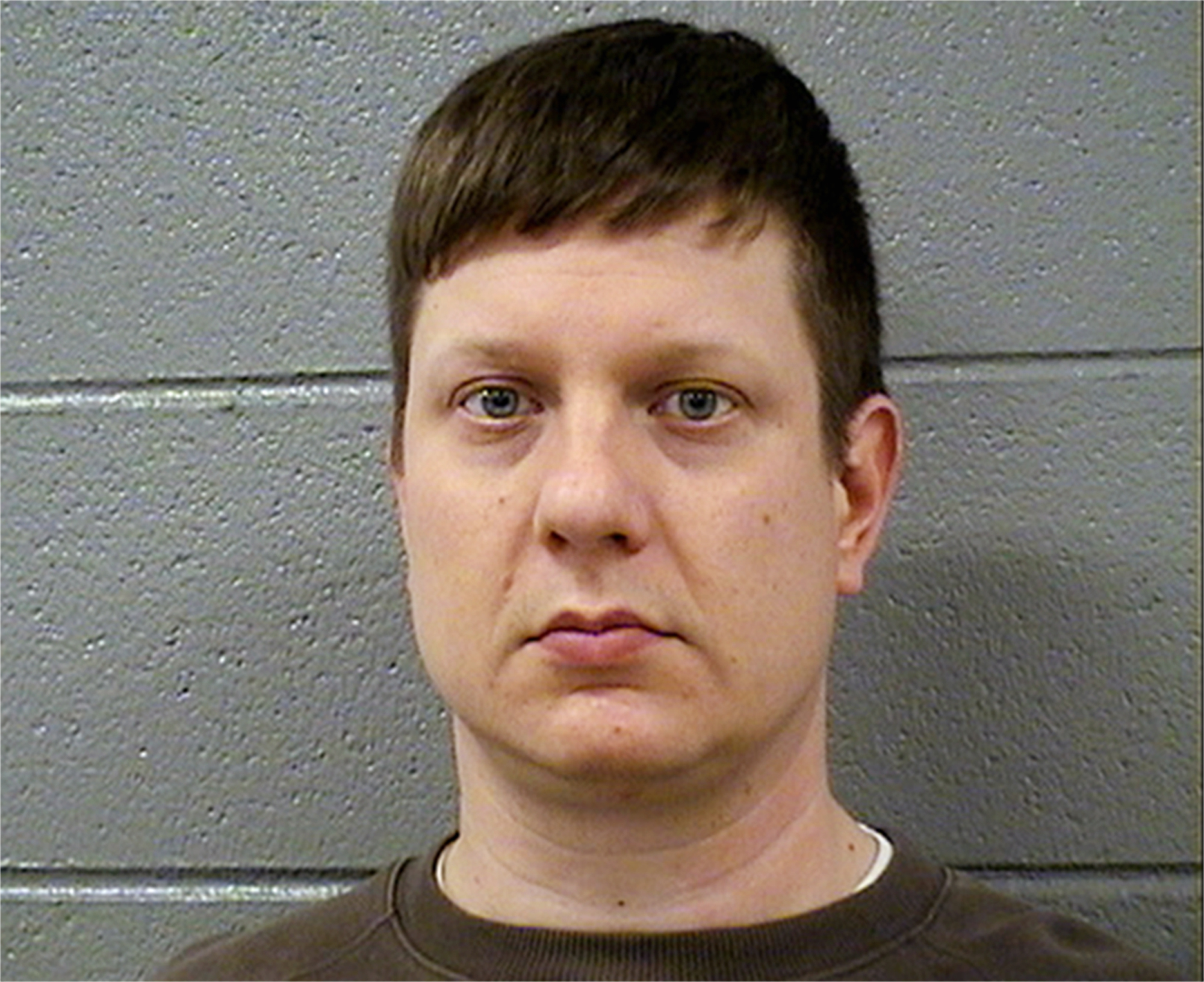 This Tuesday, Nov. 24, 2015 photo released by the Cook County Sheriff's Office shows Chicago police Officer Jason Van Dyke, who was charged Tuesday with first degree murder in the killing of 17-year-old Laquan McDonald on Oct. 20, 2014. (Cook County Sheriff's Office via AP)