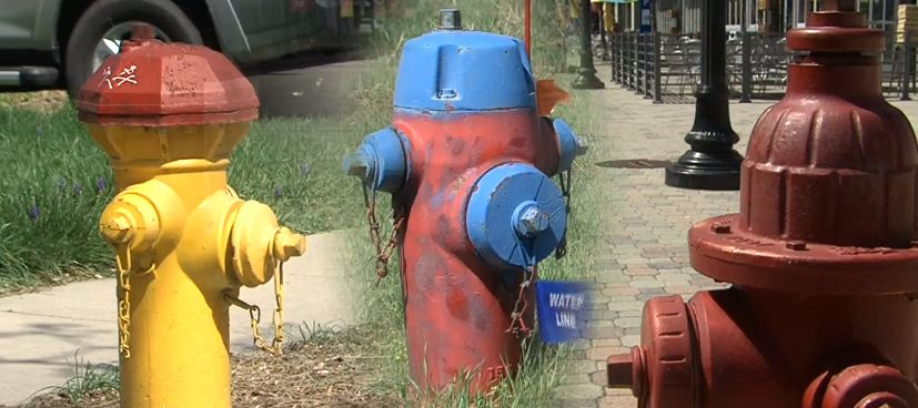Does the color of the fire hydrant mean anything? (Photo: KUTV)