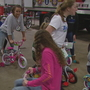 Children in need pick out new bicycles