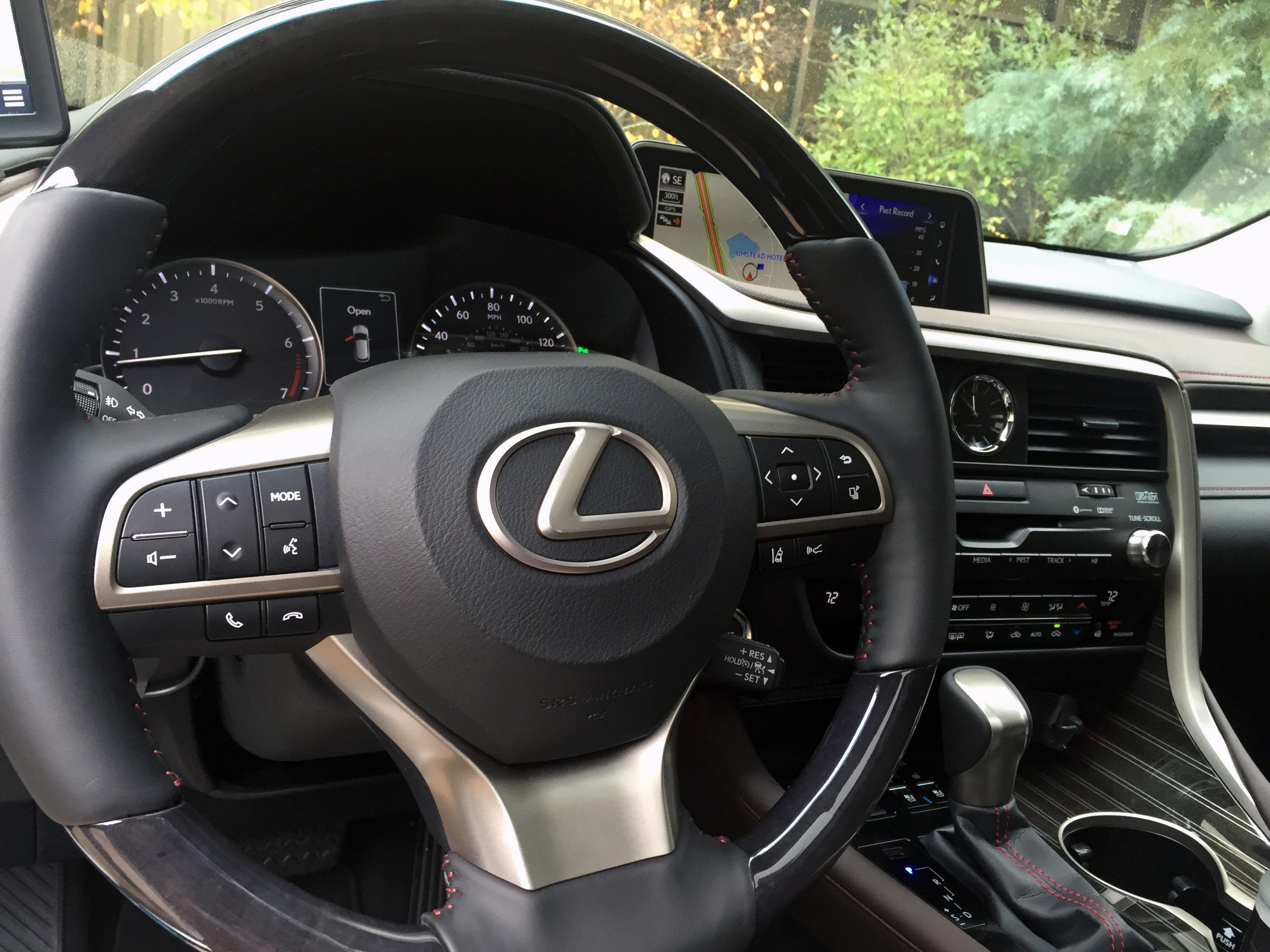 2016 Lexus RX steering wheel