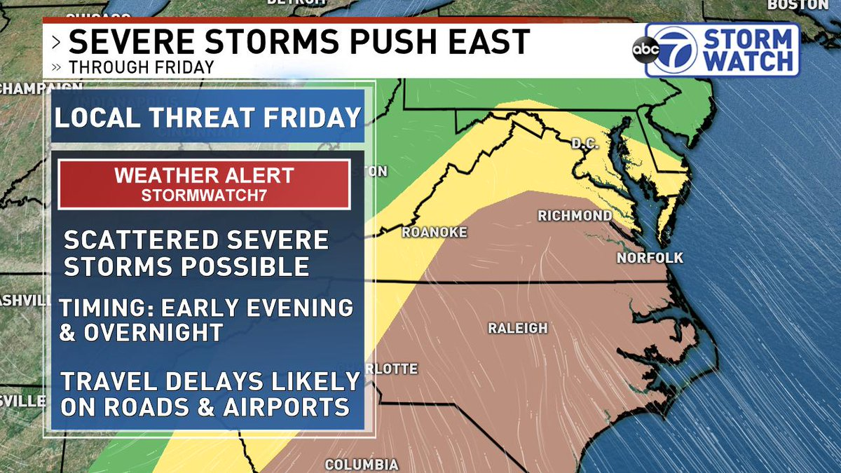 Friday Severe Threat