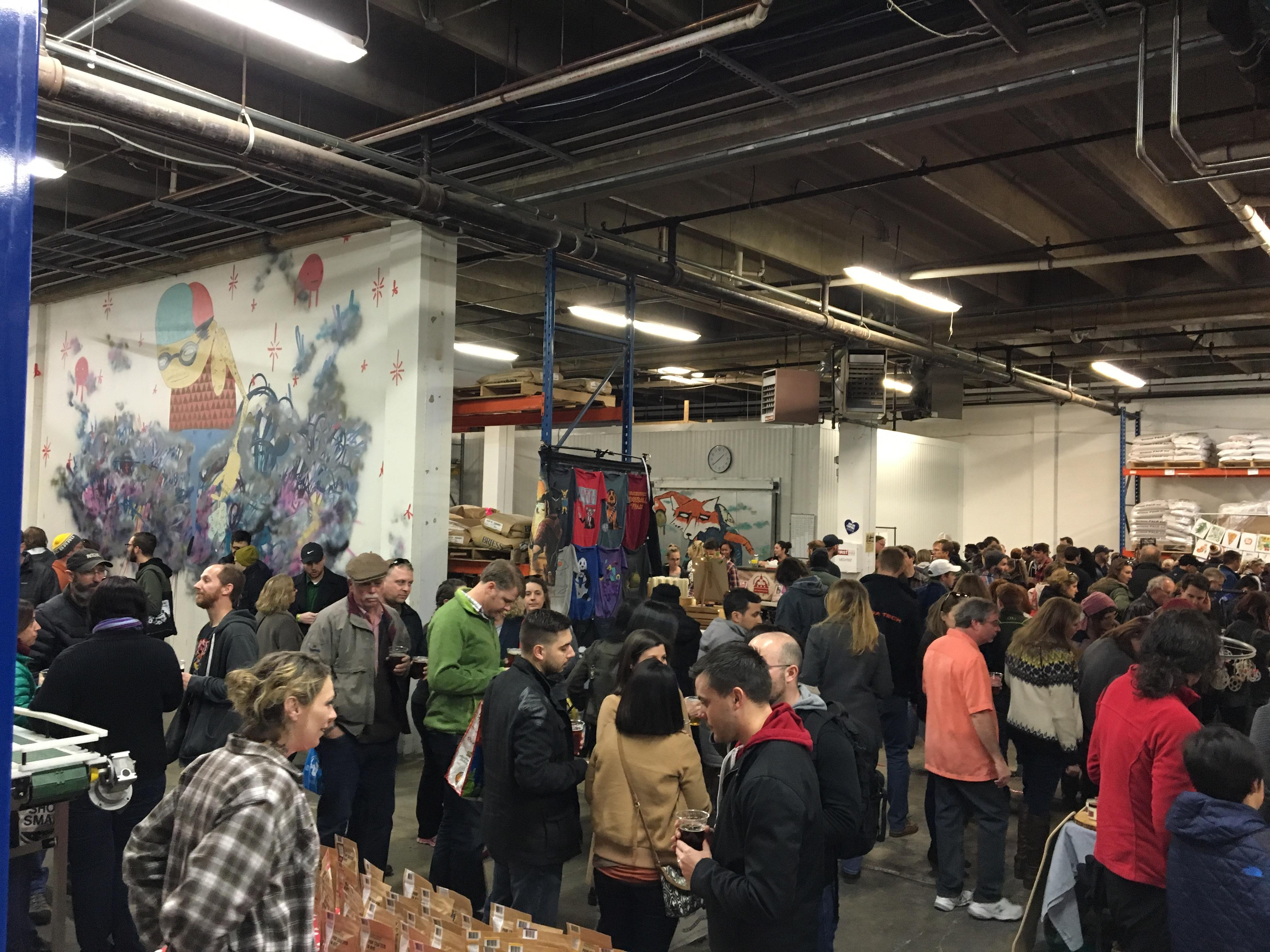 Small Business Saturday ( DC Brau)