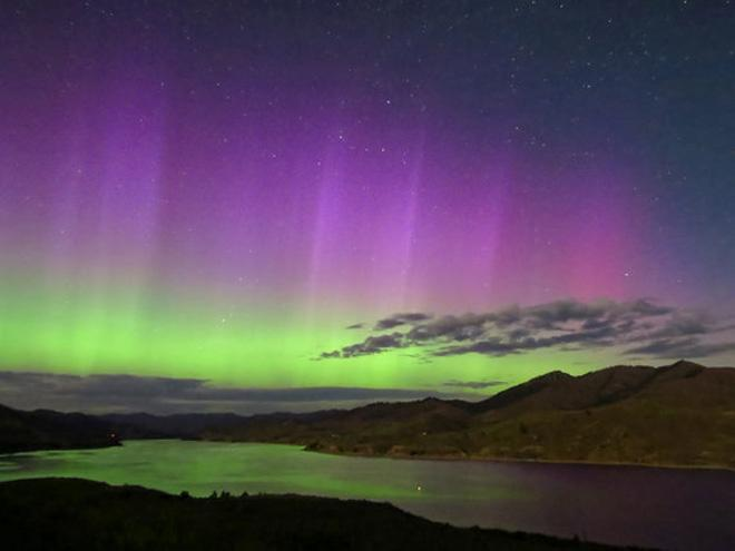 Northern Lights as seen from Sanpoil. (Photo: Rocky Raybell)