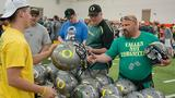 Oregon athletic surplus sale May 12