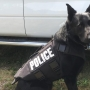 2 K-9 officers receive donated ballistic vests