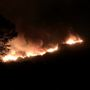 Massive wildfire burns in Southern California