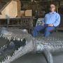 Inmate's 'Alligator Art' looks for home