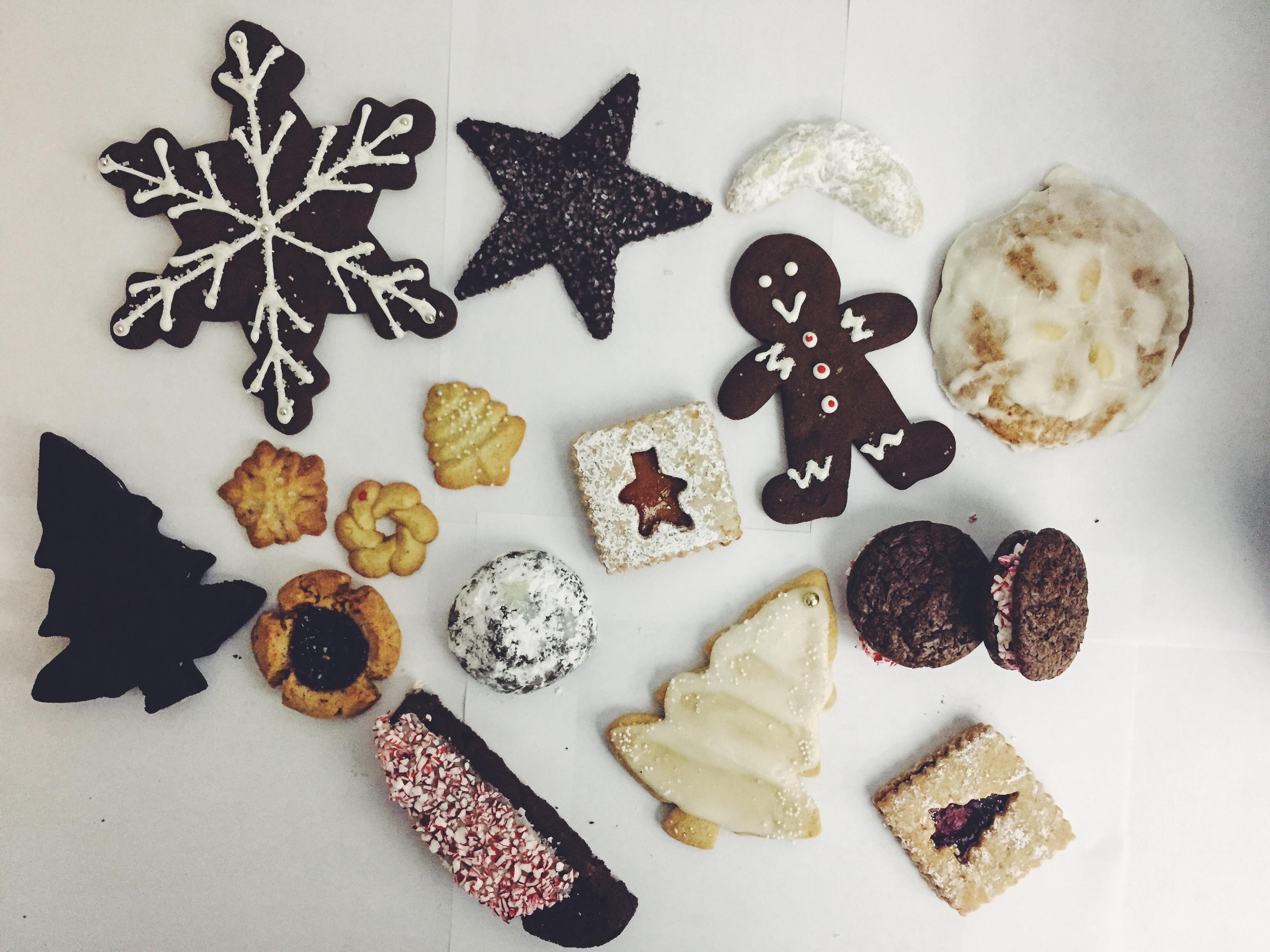 Say hello to a world of holiday cookies – from Austrian linzer and German lebkuchen to American buckeyes and South American alfajores. (Image: Courtesy Baked &amp;amp; Wired)<p></p>