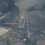 Fire crews respond to multiple structures ablaze in Bremerton