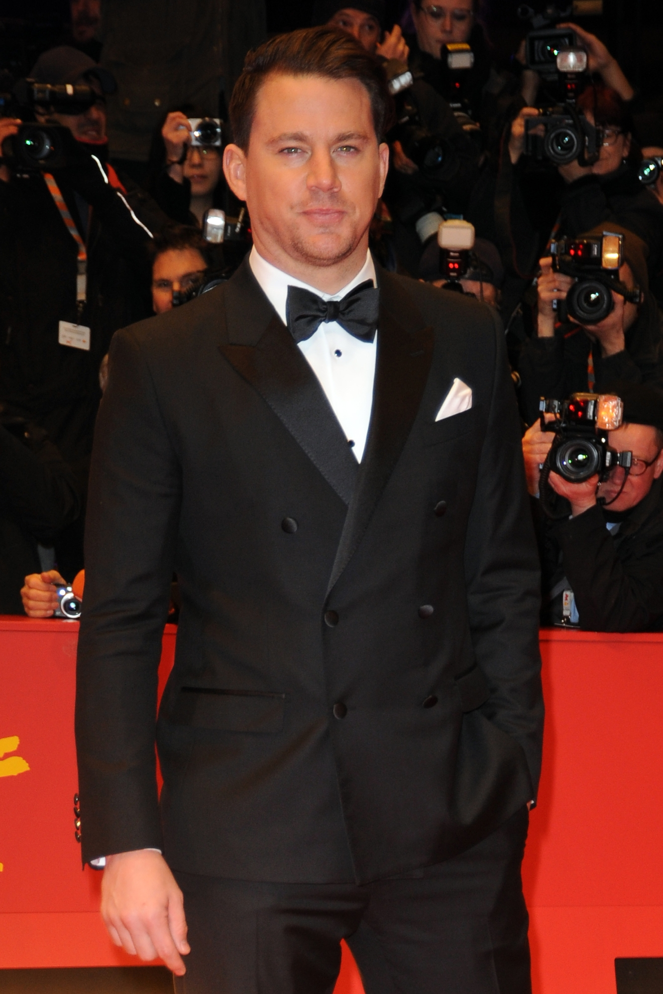 The 66th annual International Berlin Film Festival (Berlinale) - Opening Gala & Hail, Caesar! - Premiere at Berlinale Palace in Potsdamer Platz - Red Carpet Arrivals  Featuring: Channing Tatum Where: Berlin, Germany When: 11 Feb 2016 Credit: WENN.com  **Not available for publication in France**