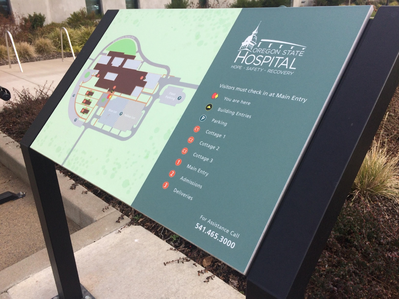 Rep. Julie Fahey and other politicians are looking for ways to keep the state hospital in Junction City open. Gov. Kate Brown said closing the hosiptal could help the state's budget. (SBG photo)