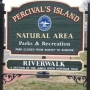 Police looking for information after Percival's Island sign was stolen