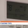 Department of energy recommends best temperature for your home