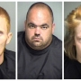 Three arrested, charged with possession of methamphetamine in Amherst Co.