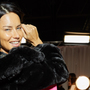 Adriana Lima walking away from Victoria's Secret after 18th fashion show