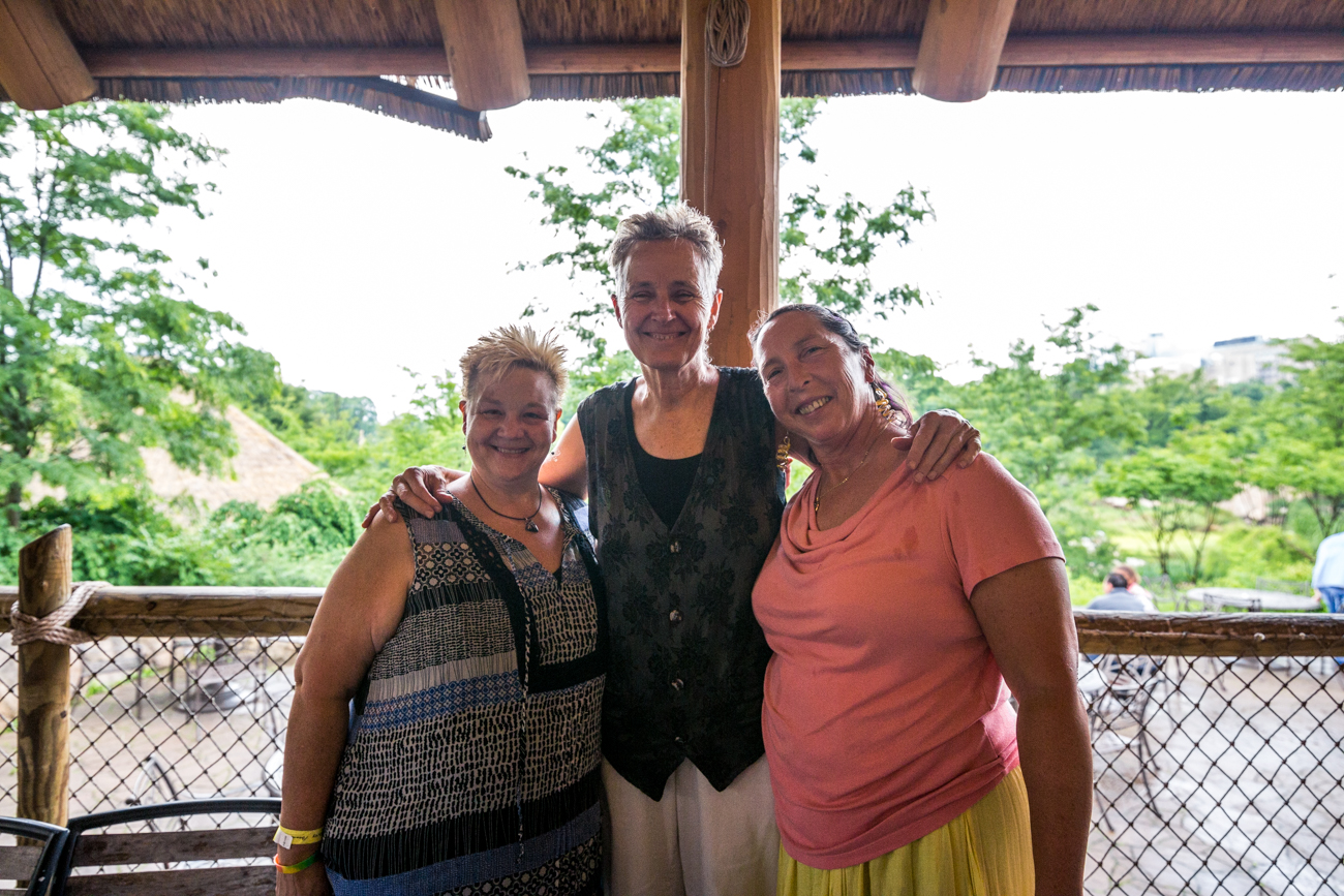 Kim Smith, Char Carroll, and Corinna Lewis /{ }Kelly Ries and David Wagers / Image: Catherine Viox{ }// Published: 6.16.19