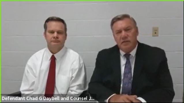 <p>Chad Daybell's defense attorney is fighting a motion to combine his client's and Lori Vallow Daybell's case, saying it would only increase media coverage and makes for an unfair trial. (Photo: KUTV)</p>