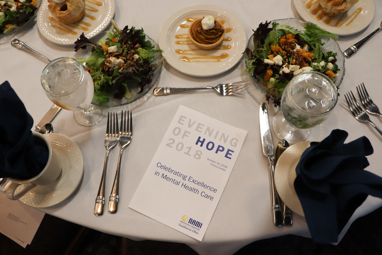 This year, the tenth annual National Alliance on Mental Illness Southwest Ohio (NAMI SWOH) Evening of Hope is on Wednesday, October 16th. It will be held at the Cintas Center at Xavier University. / Image: Tom Uhlman Photo // Published: 10.3.19