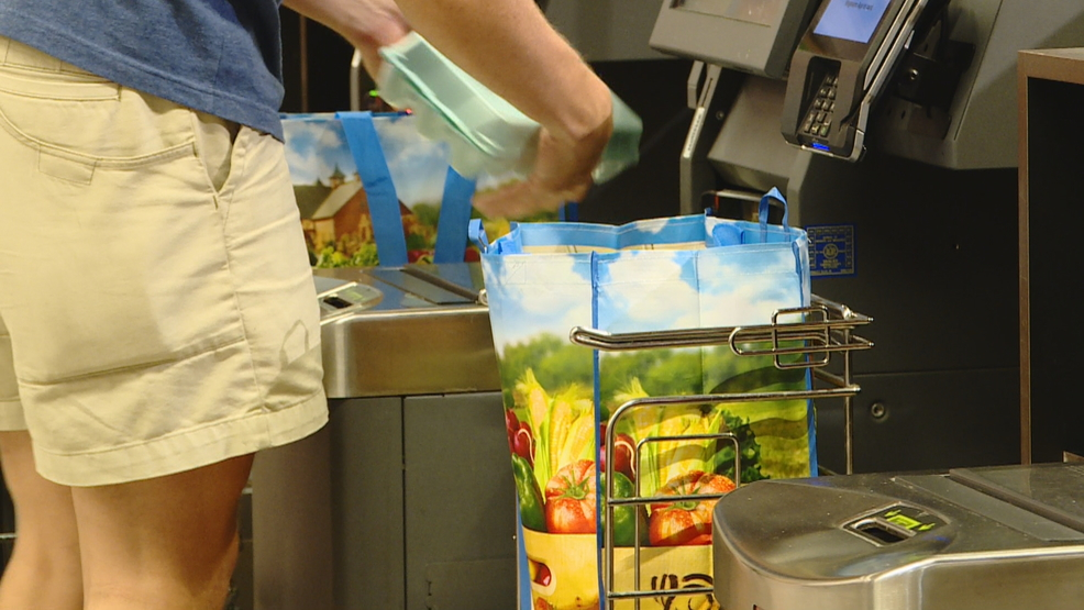 Bag ban: Wegmans shoppers begin adjusting to no plastic bag policy