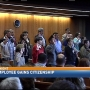 Egyptian immigrant among 25 people who became US citizens in Eugene Friday