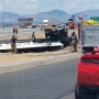 Update: One person killed in fiery crash in far east El Paso County