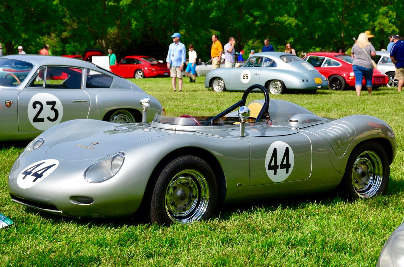 The 41st annual Cincinnati Concours d' Elegance took place on Sunday, June 10 at Ault Park. This year's show celebrated the 70th anniversary of Porsche. It also featured a replica of the Ghostbusters Ecto-1 vehicle. Proceeds from the event benefit Juvenile Arthritis programs of The Arthritis Foundation. / Image: Leah Zipperstein, Cincinnati Refined // Published: 6.11.18