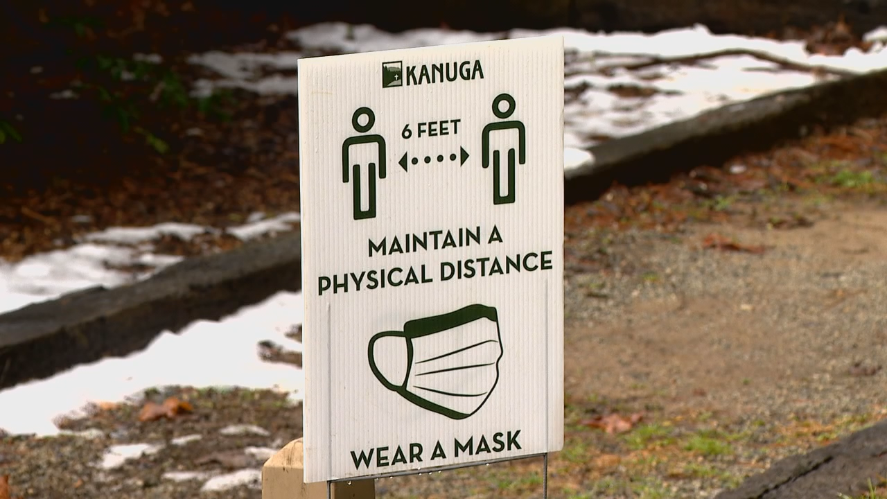 Camp Kanuga normally has capacity for 160 campers, but this year it will allow 60 to 70 percent of that. (Photo credit: WLOS Staff)