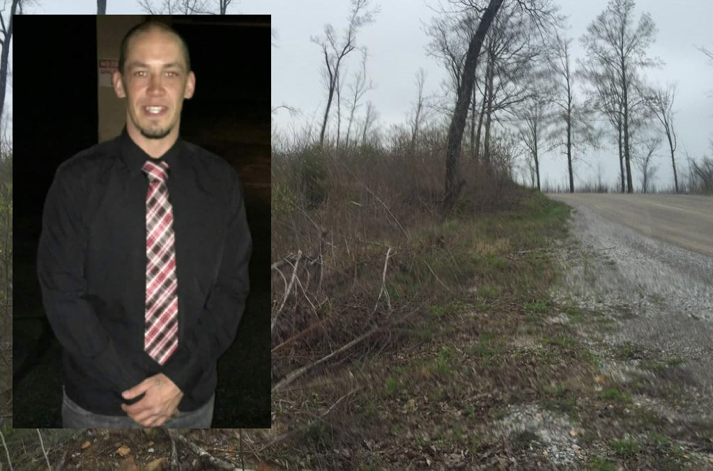 Authorities found the body of Thomas Rogers in a barrel on Valley View Road in Bledsoe County. (Images: Seana Allison, WTVC)