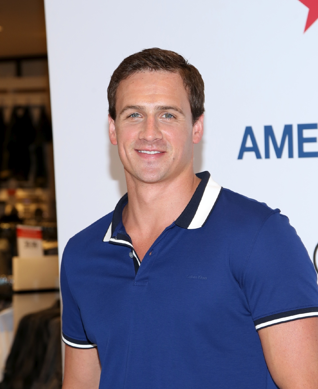 Macy's and Calvin Klein White Label event at Macy's Herald Square                                    Featuring: Ryan Lochte                  Where: New York, New York, United States                  When: 21 May 2014                  Credit: Andres Otero/WENN.com