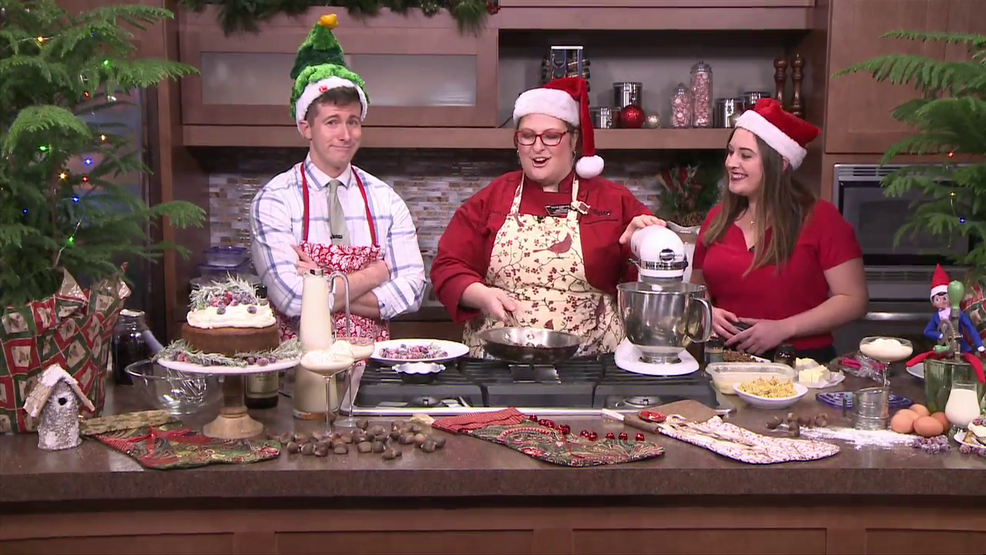 in the kitchen with hy vee eggnog and chestnut cake - Hyvee Christmas Eve Hours