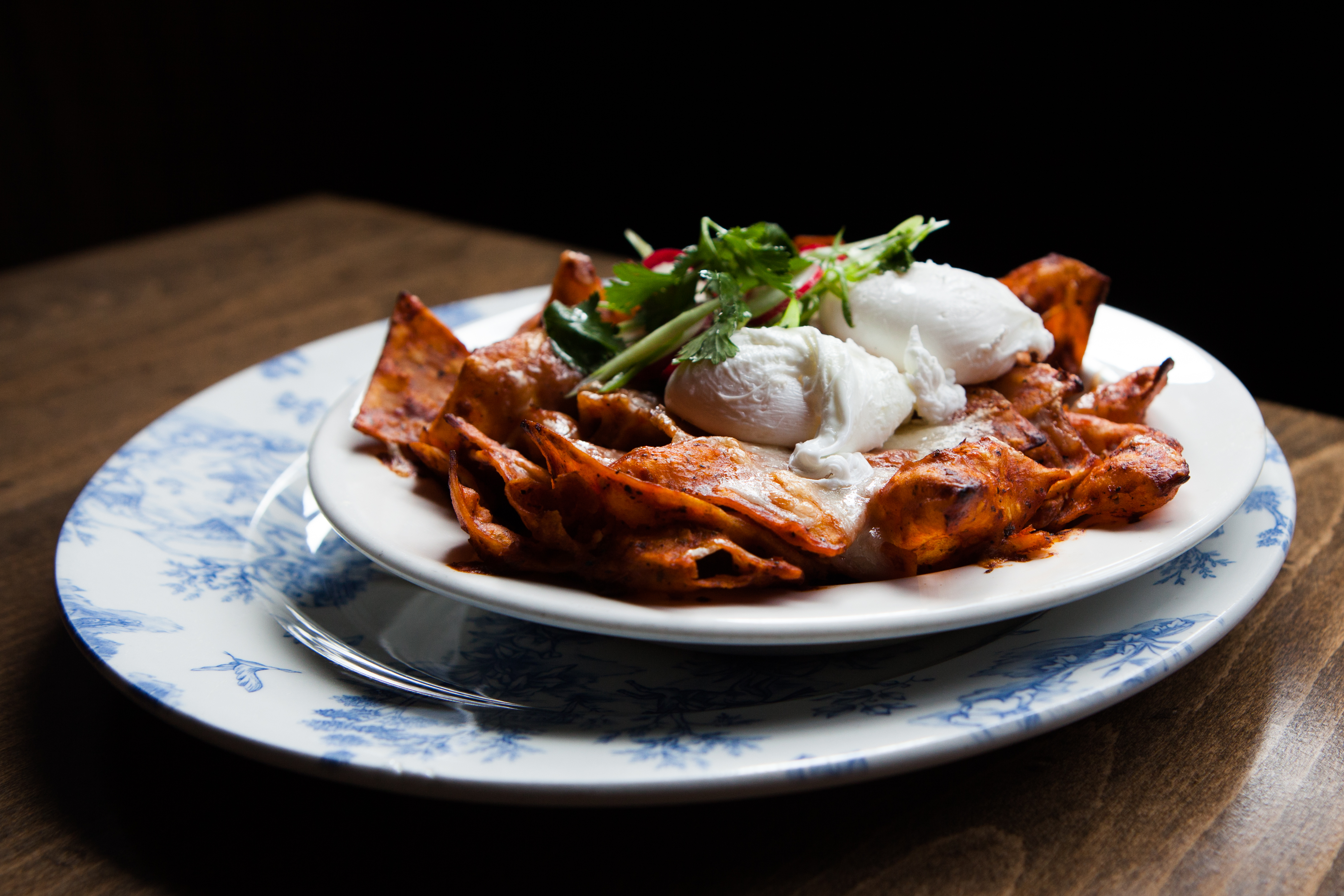 Capitol Cider's Chilaquiles; part of their brunch menu, which is entirely gluten-free. (Image: Capitol Cider)