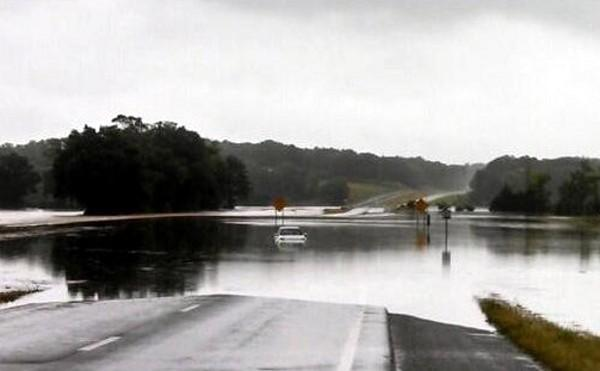 Hwy 21 in Munford Al headed north towards Oxford... From @wkylemorrison