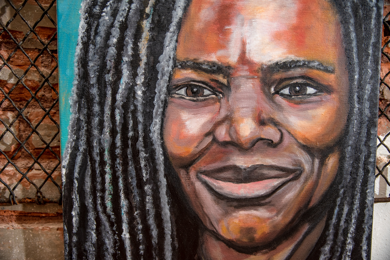 A portrait of Tracy Chapman  by Linnoir Rich with Art by Linnoir / Image: Melissa Sliney // Published: 6.26.19